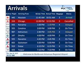 Calendario Fids.Tsi Terminal Systems International Flight Information
